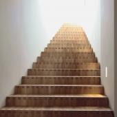 3 Konische gerade Faltwerktreppe mit 24 Stufen