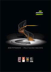 Kundenprospekt über unsere Faltwerktreppe im PDF Format